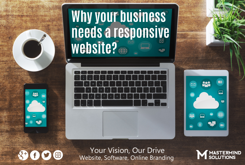 Why your business needs a responsive mobile friendly website?
